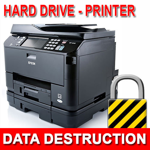 printer hard drive data destruction mattress recycling disposal. Black Bedroom Furniture Sets. Home Design Ideas